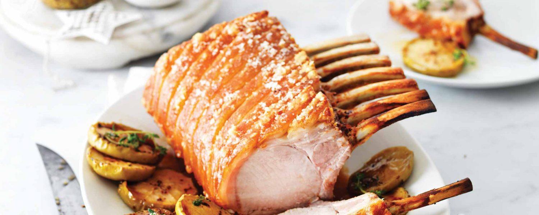 Crackled Pork Rack