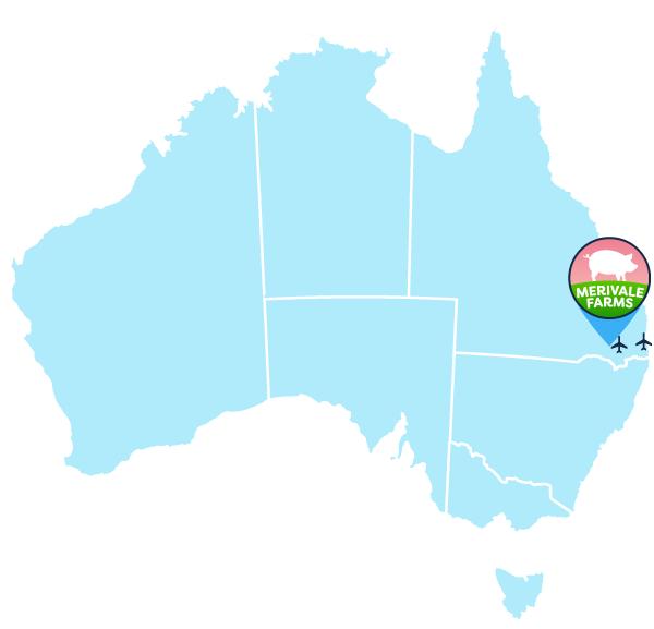 Merivale Farms Location Map